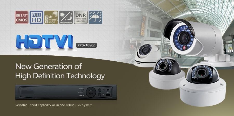Các loại camera HDTVI
