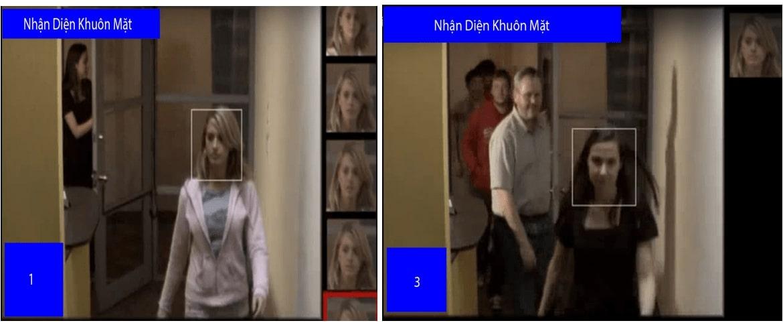 Chức năng nhận diện khuôn mặt