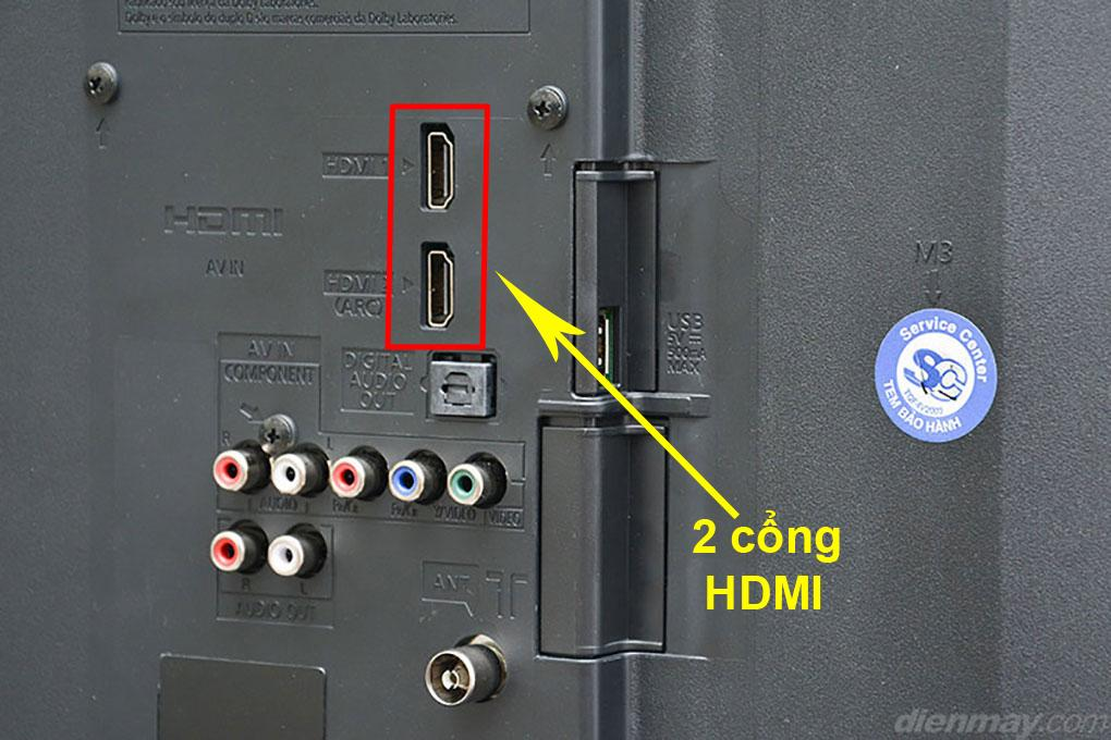 Cổng HDMI trên tivi