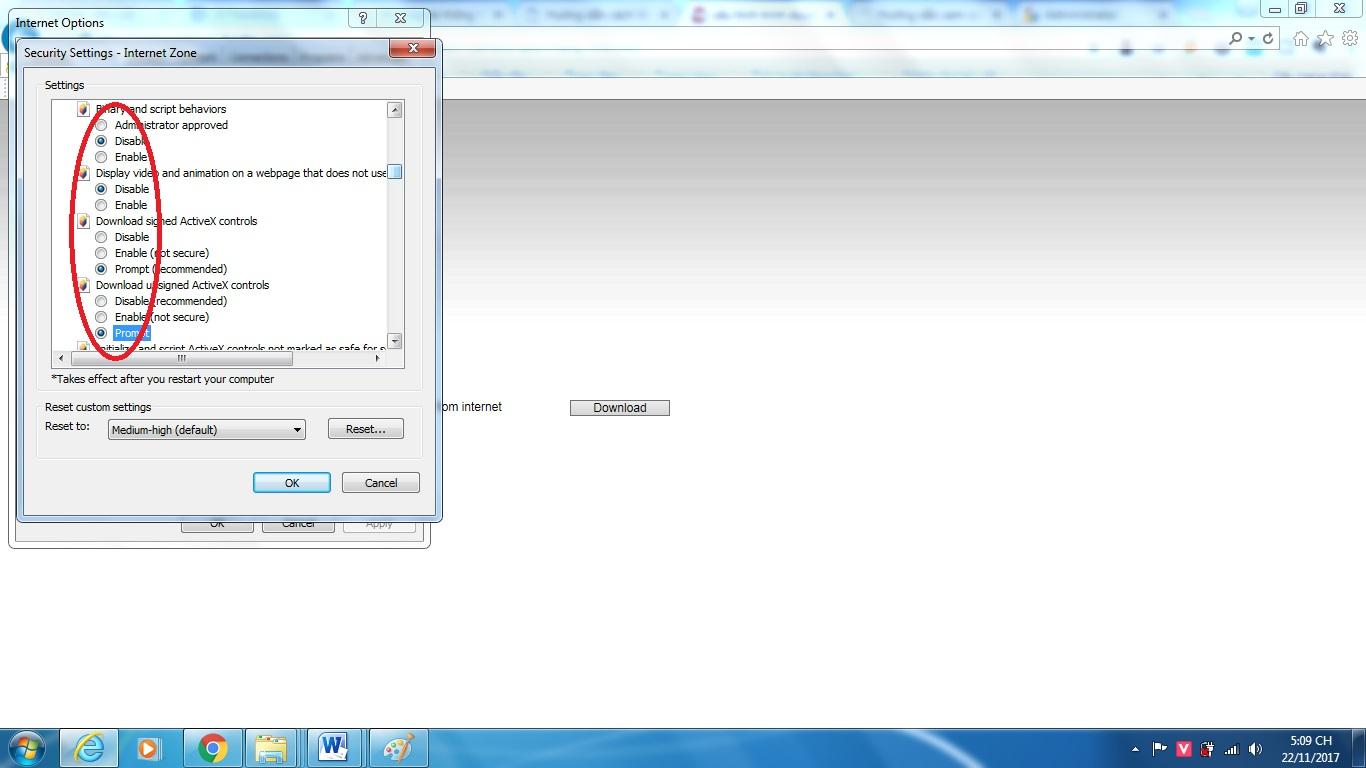 hướng dẫn xem camera trên trình duyệt IE