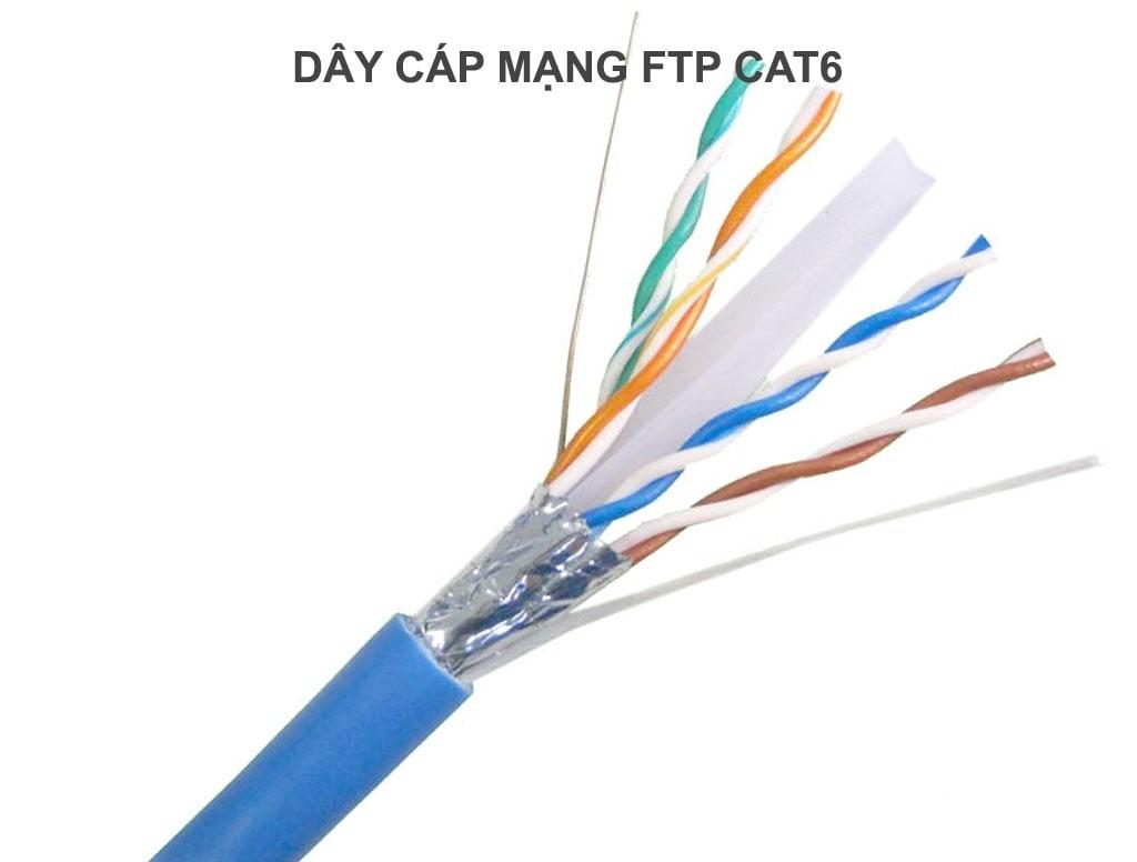 Dây cáp mạng FTP cat6