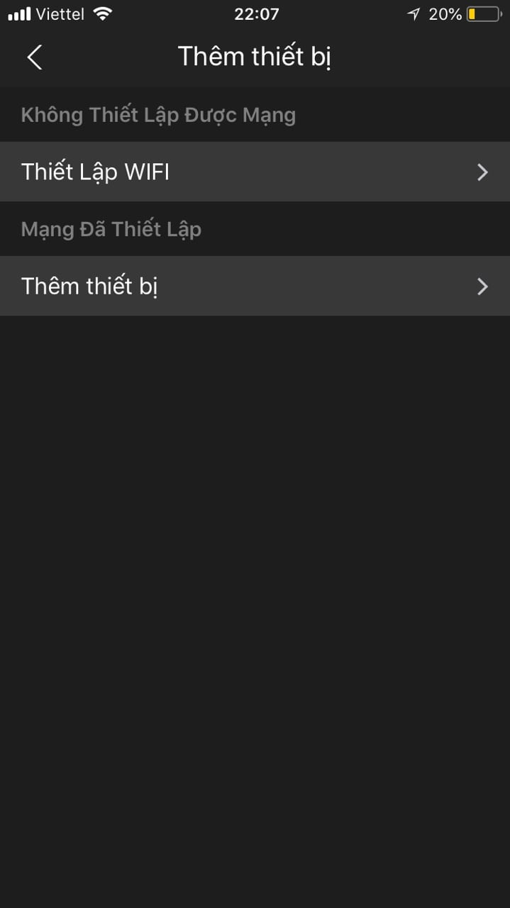 Thiết lập wifi cho camera Dahua trên điện thoại