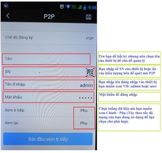 Xem camera Dahua trên điện thoại bằng Cloud P2P