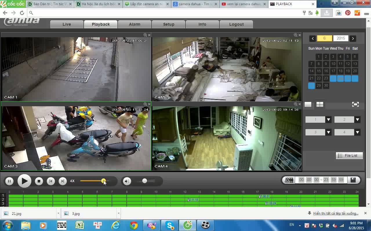 Cách kết nối camera ip với máy tinhac