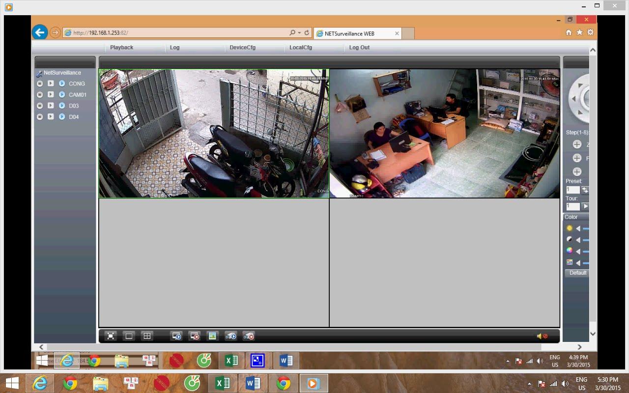 Kết nối camera với máy tính laptop