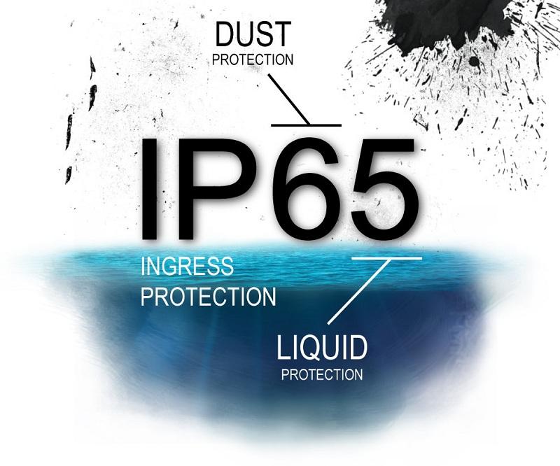 tiêu chuẩn chống nước IP65 là gi